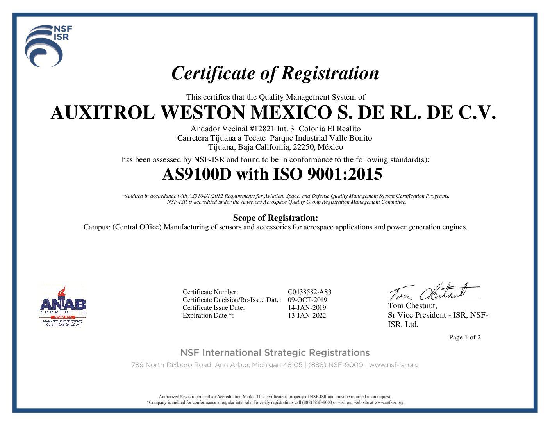 AS9100-Certificate-C0438582-AS3-exp-date-13-01-22-pdf