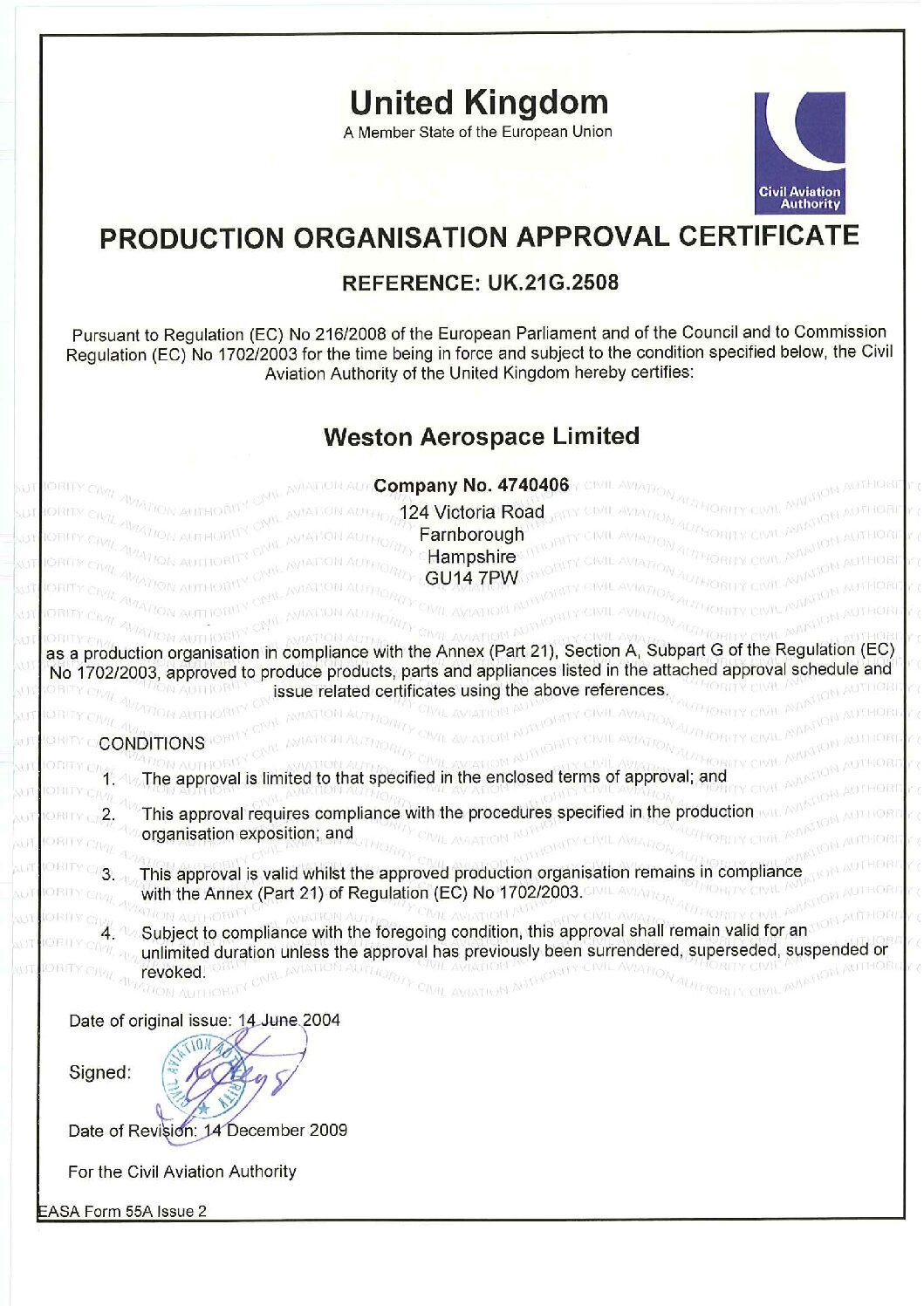 EASA-Part-21-Certificate-2009-pdf