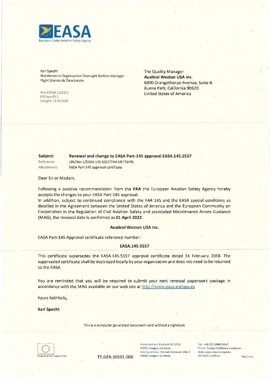 AW-USA-EASA-approval-pdf