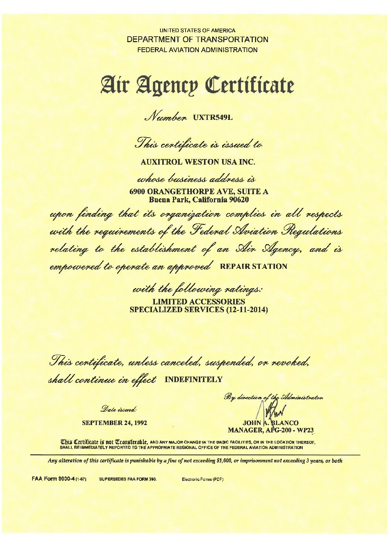 AW-USA-FAA-approval-pdf